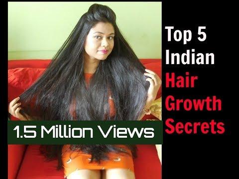 How to Grow Hair Fast: Top 5 Hair Growth Hacks|Indian Hair Growth Secrets