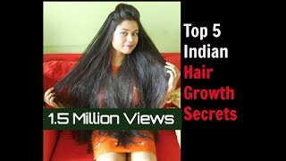 How to Grow Hair Fast: 5 Indian Hair Growth Secrets/ Hair Growth Hacks Everyone Must Know About