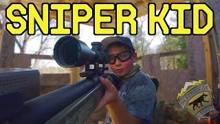 Airsoft Sniper Kid | Noob Day 2017 (ASG M40A3 Airsoft Sniper Rifle)