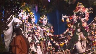 Radhastami Arati Ceremony Kirtan 2015 at ISKCON Mayapur