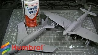 Humbrol - How To Use - Spray Primer