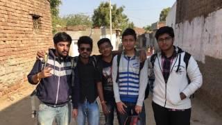 LJ Engineering College Village Visit of Village SINAJ