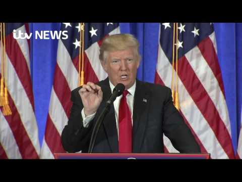 Donald Trump in angry exchange with CNN
