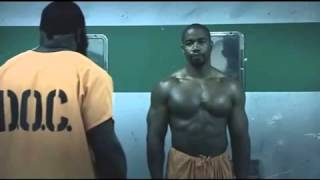Blood And Bone Prison Fight starring Michael Jai White