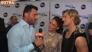'DWTS' Week 9: Charlie's Shocking Exit, Maks' Kiss Fest, and the Finals Are Set