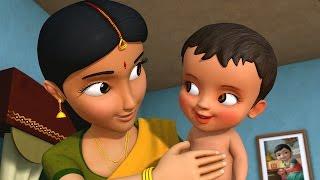 தெய்வம் தந்த ராஜா | Tamil Rhymes for Children | Infobells