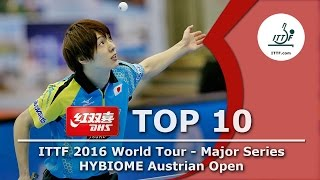 DHS ITTF Top 10 - Hybiome 2016 Austrian Open