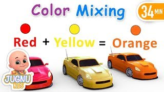How to Mix Colors for kids - Learn Color Mixing - Preschoolers, kindergarten and toddlers learning