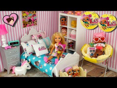 Xxx Mp4 Barbie Doll LOL Surprise Themed Bedroom Tour New LOL Confetti Pop Opening 3gp Sex