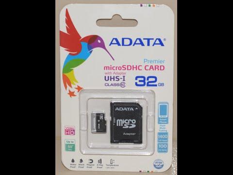 ADATA 32GB Class10 MicroSD Card review