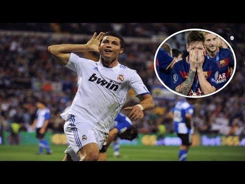 "10 Times Cristiano Ronaldo SILENCED ""Messi"" Chants  HD "