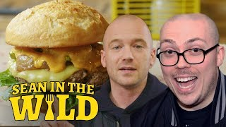 Anthony Fantano and Sean Evans Review the Impossible Burger   Sean in the Wild