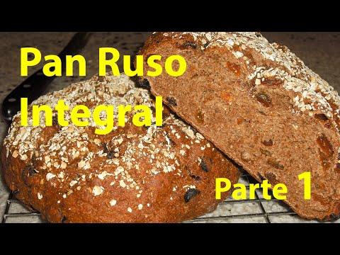 Receta de Pan Integral Negro P1