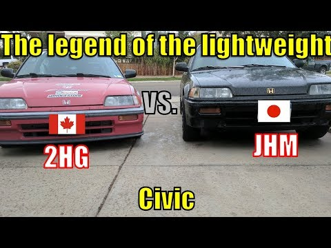 Testing the Legend of the Lightweight Japanese 1989 Civic Si