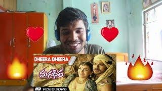 Dheera Dheera Full Video song-Magadheera|Ram Charan, Kajal Agarwal|Reaction(GRAND)