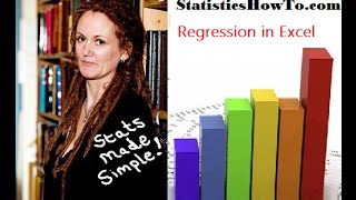 How to find Regression in Excel 2013