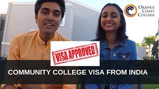 Getting a visa for Community College from India? | Orange Coast College