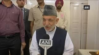 Watch: Afghanistan's ex-prez Karzai visits Jallianwala Bagh