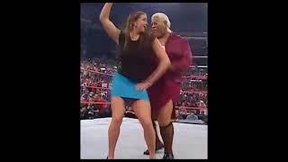 WWE Sexy Diva Stephanie McMahon Booty Topless 2016