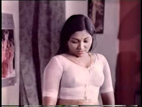 SARITHA ACTRESS IN WET WHITE MALLU  BLOUSE
