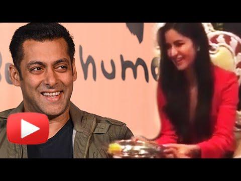 OMG ! Katrina Kaif Performs Salman Khan's Aarti, Does His Puja