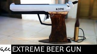Extreme beer gun