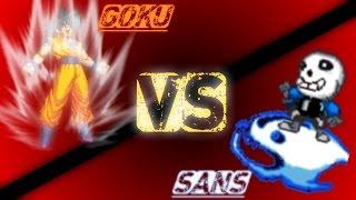 Goku VS Sans
