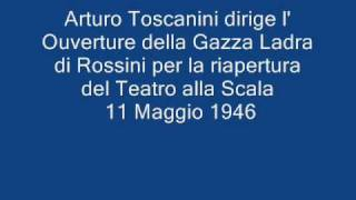 Toscanini dirige l' Ouverture de