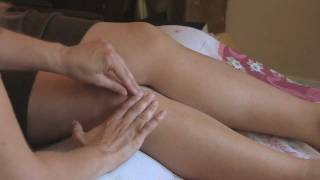 Acupuncture Treatment Demo for Low Energy and Stress Relief Therapy