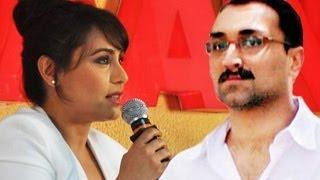 Rani Mukherjee SPEAKS about husband Aditya Chopra