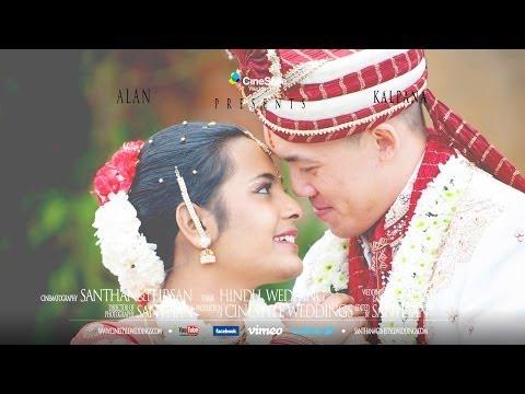 ASIAN TAMIL WEDDING Alan & Kalpana