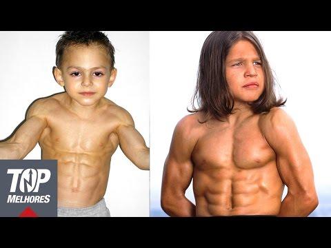 5 Crianças Mais Fortes do Mundo