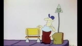 Sesame Street - BUS STOP sign