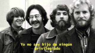 Credence Clearwater Revival-Fortunate Son (Subtitulada en Español)