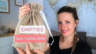 Empties #27 : Juin/Juillet 2016 | Avril, Karethic, Terre de l