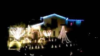 Christmas ligth show 2011 Laguna Hills