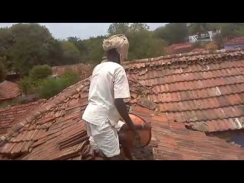 Typical Indian Village's house repair - Datta's House- Kothapally(Medak, Telangana-India)
