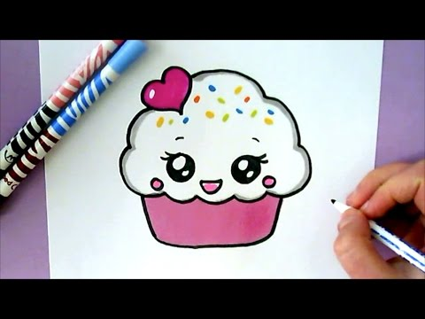 Xxx Mp4 HOW TO DRAW A CUTE CUPCAKE 3gp Sex