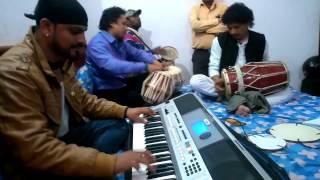 Amit Sagar  Back Stage rehearsal with Musicians  Ghungru Baajige