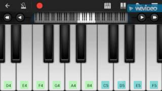 Sanam Re Mobile piano tutorial