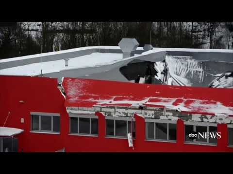 Sports Arena Roof Collapses