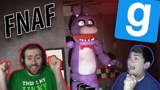 JP, MEET THE FNAF CREW! | GMod Horror Maps: Five Nights At Freddy's