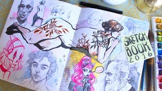 My Sketchbook Tour // 2016 Edition