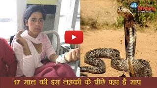 17 साल की इस लड़की के पीछे पड़ा है रहस्यमयी सांप, 34वीं बार डसा | Snake Keeps Stalking Girl