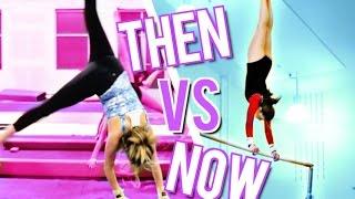 High School VS Now Gymnastics!