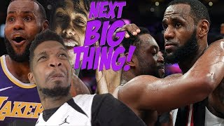 LEBRON IS THE NEXT BIG THINGG! LAKERS LAST 7 GAMES HIGHLIGHTS REACTION (IM BACKKK)