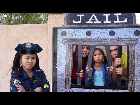 Xxx Mp4 Police Jannie Wendy Pretend Play LOCKED UP W Jail Playhouse 3gp Sex