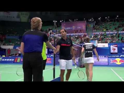 R32 - XD (Highlight) - Zhang N./Zhao YL. vs A.Dumartheray/S.Jaquet - 2013 BWF World Championships