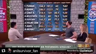 Survivor Panorama Anıl'ın performansı değerlendirildi.. #ABBFC ❤️