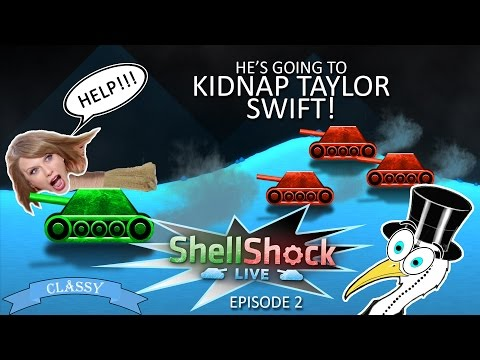He's Going To Kidnap Taylor Swift! - 1080p/60FPS - ShellShock Live - Ep2